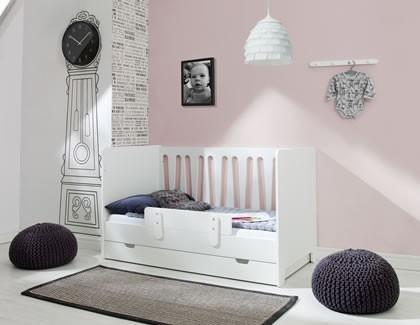Barierka do łóżeczka dziecięcego 120x60 i 140x70 Pinio Moon/Basic