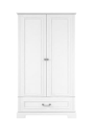 Bellamy Ines White Szafa 2-drzwiowa wysoka