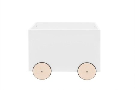 Bellamy Lotta Snow Skrzynia na zabawki na kółeczkach