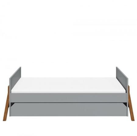 Bellamy Łóżeczko z szufladą 70x140 cm  Lotta Grey
