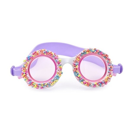 Bling2o Okulary do pływania posypka cukrowa fioletowe