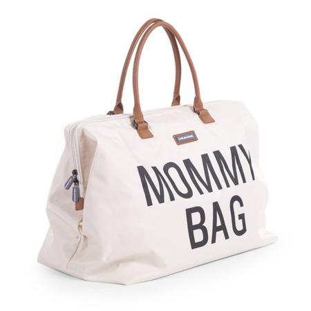 Childhome Torba podróżna Mommy Bag kremowa