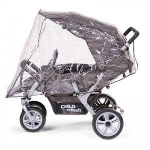Childhome Triplette wózek 3-osobowy dla rodzin i żłobków