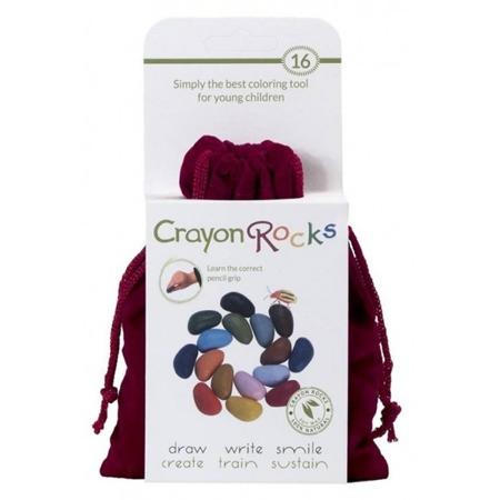 Crayon Rocks Kredki w aksamitnym woreczku 16 kolorów