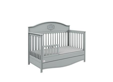 Dodatkowa barierka do łóżeczka GOOD NIGHT GREY