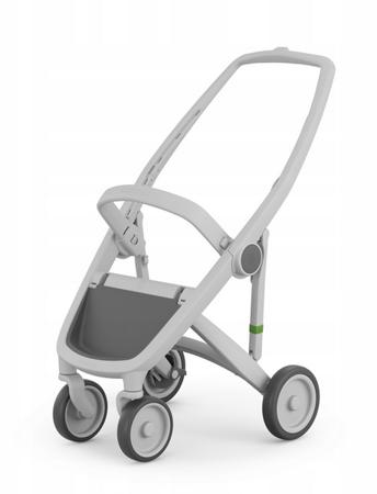 Greentom Classic Wózek spacerowy EKO szaro-czarny