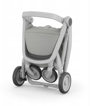 Greentom Classic Wózek spacerowy EKO szaro-oliwkowy
