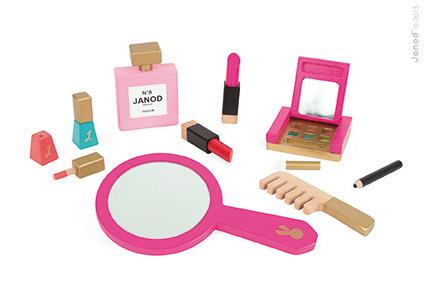 Janod Kosmetyczka z akcesoriami małej Miss