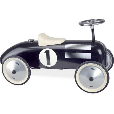 Jeździk metalowy Nr 1 Black Vintage czarny, Vilac