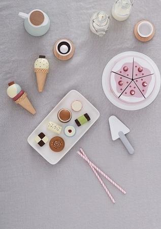 Kids Concept Bistro Tort Urodzinowy różowy