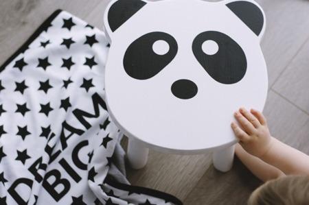 Krzesło dziecięce panda