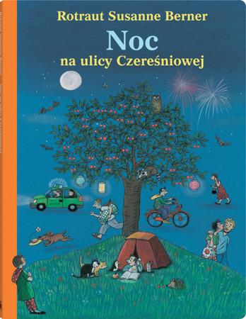"""Książeczka dla dzieci """"Noc na ulicy Czereśniowej"""",  Wyd. Dwie Siostry"""