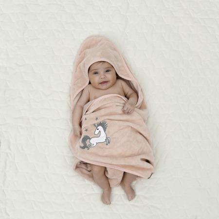La Millou Ręcznik Bamboo Soft Newborn Hello World mint