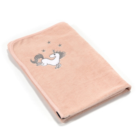 La Millou Ręcznik Bamboo Soft Newborn Unicorn Sugar Bebe powder pink