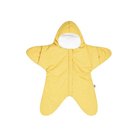 Baby Bites Kombinezon letni Star Yellow 3 - 6 miesięcy