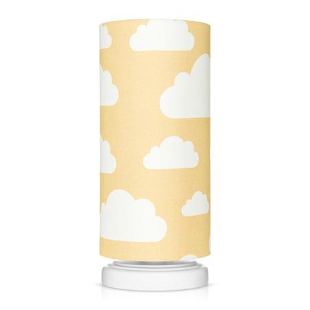 Lampka nocna dla dzieci Chmurki Mustard