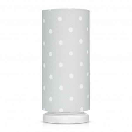 Lampka nocna dla dzieci Lovely Dots Grey