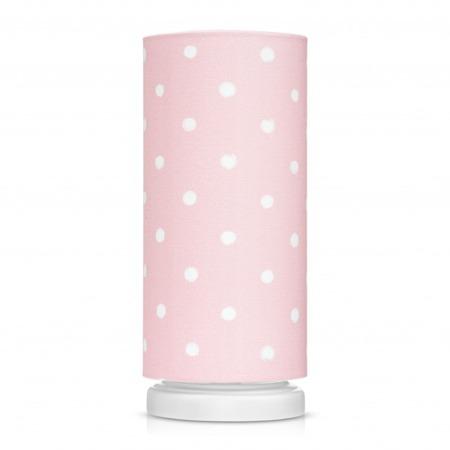 Lampka nocna dla dzieci Lovely Dots Pink