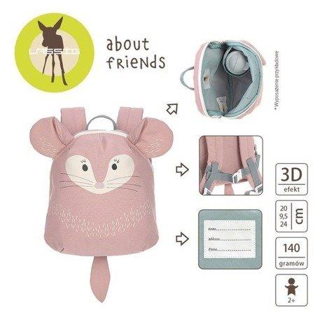Lassig Plecak mini About Friends Szynszyla