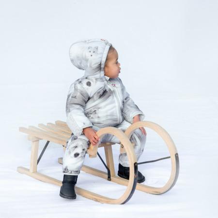 Lodger Skier Botanimal Kombinezon zimowy dla niemowlaka Mist Forest 6-12 m-cy
