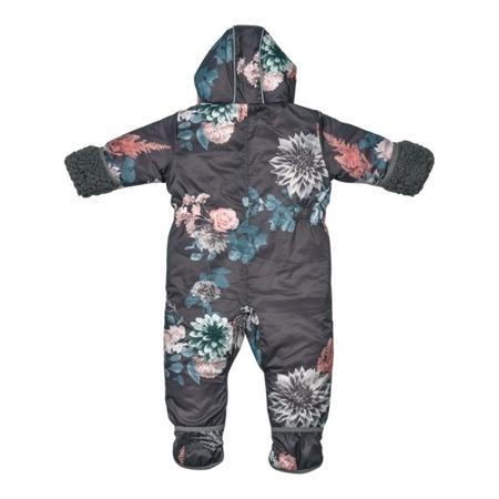 Lodger Skier Botanimal Kombinezon zimowy dla niemowlaka Raven 6-12 m-cy