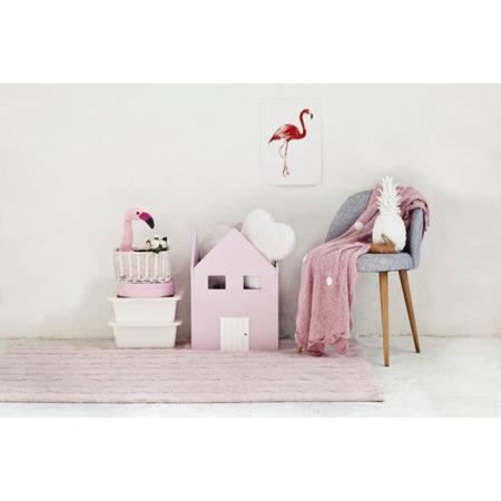 Lorena Canals Trenzas Soft Pink 80x120cm
