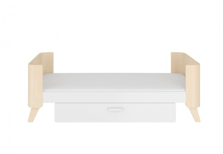 Łóżeczko 70x140 z szufladą rozsuwane do 160cm. Hoppa Bellamy
