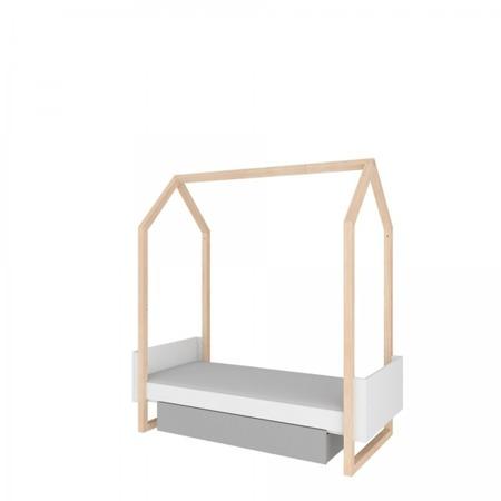Łóżeczko 70x140 z szufladą, rozsuwane do rozmiaru 70x160 Bellamy Pinette