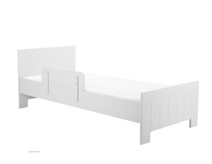 Łóżko młodzieżowe 200x90 Białe Pinio Calmo
