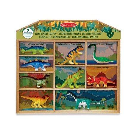 Melissa & Doug Zestaw dinozaurów w walizce