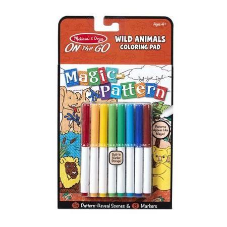 Melissa & Doug magiczna kolorowanka Dzikie Zwierzęta