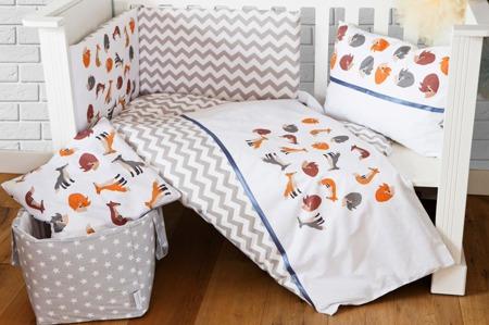 Ochraniacz na całe łóżeczko, Liski 30x420cm