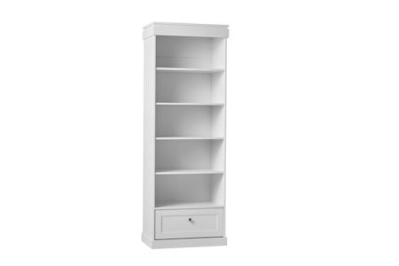 Pinio Marie Regał otwarty biały z szufladą