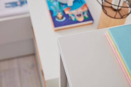 Pinio Snap Komoda 3 szufladowa biała