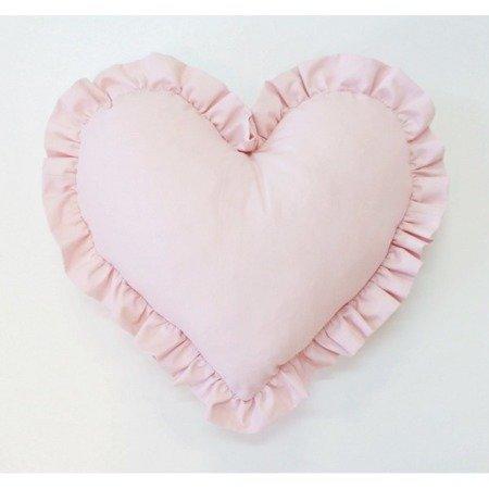 Poduszka Serce duże różowa, Dolly