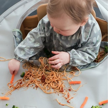 Tidy Tot Kit Zestaw do nauki jedzenia metodą BLW szary