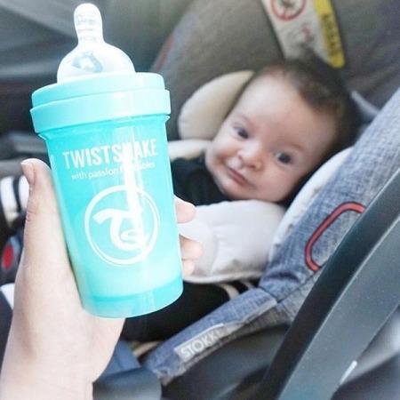 Twistshake Antykolkowa butelka do karmienia 180ml pastelowy niebieski