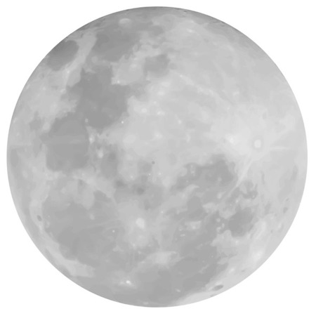 Zestaw Naklejek Nad Mebelki Księżyc i Lisek, Dekornik