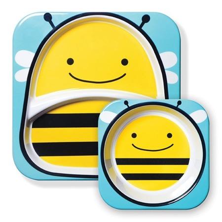 Zestaw jedzeniowy Zoo Pszczoła, Skip Hop