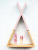 Dziecięca półeczka tipi, różowa