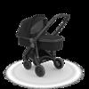 Wózek głeboki Greentom CARRYCOT eko czarno-czarny