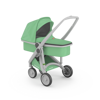 Wózek głeboki Greentom CARRYCOT eko szaro-miętowy